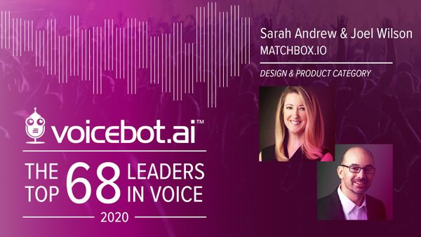 Matchbox.io Executives Named Top Leaders in Voice AI